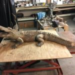 Waco Sculpture Zoo - Alligator Process
