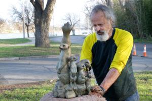 Waco Sculpture Zoo - Meerkat Tribe