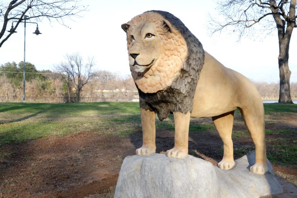 Waco Sculpture Zoo - African Lion