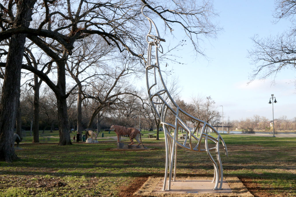 Waco Sculpture Zoo - Geri