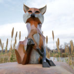 Waco Sculpture Zoo - Roxy Fox