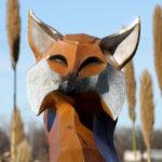 Waco Sculpture Zoo - Roxy Fox Face