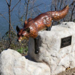 Waco Sculpture Zoo - Stalking Fox