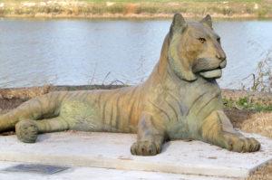 Waco Sculpture Zoo - Sumatran Tiger Side