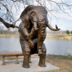 Waco Sculpture Zoo - Wise Elephant