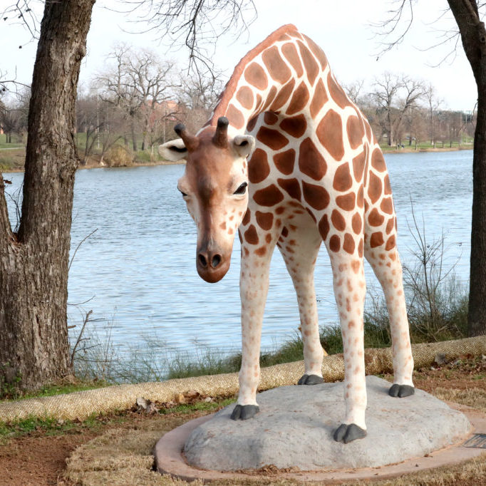 Waco Sculpture Zoo - Giraffe