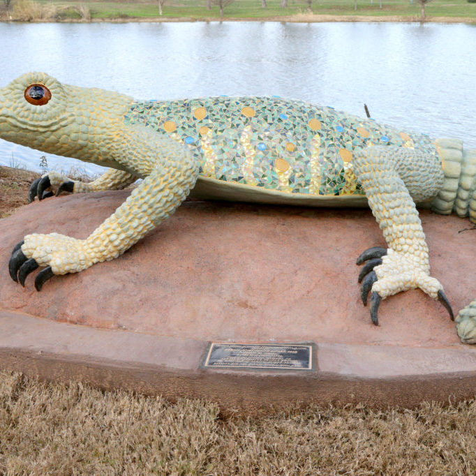 Waco Sculpture Zoo - Spiny Lizard